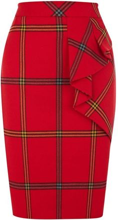KAREN MILLEN Graphic Check Collection Skirt http://www.tradingprofits4u.com/