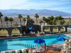 Furnace Creek, Death Valley, CA...oasis in the middle of the desert!