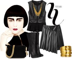 """Black swan"" by ula-mansfeld ❤ liked on Polyvore"