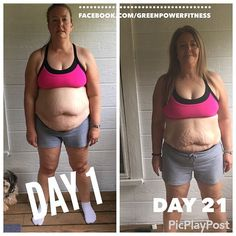 #greenpowerfitness #transformationtuesday #21dayfix  down 11.2 pounds and 8 inches after round 1 of the 21 day fix