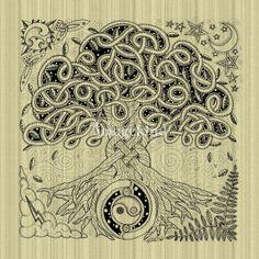 Celtic Tree of Life Inked | Kristen Fox