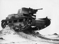 Polish Tank 7TP Polish Army 1939. Modern tank made in Poland.