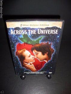 Across the Universe (DVD, 2008, 2-Disc Deluxe Edition Set)  Evan Rachel Wood New