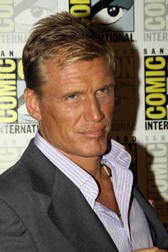 Dolph Lundgren... Shit a brick. WHY IS HE SO FRIGG'ING HANDSOME AND ALL THAT??!