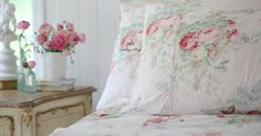 Friday Favorites a beautiful charming floral duvet - French Country Cottage French Country Cottage, Cottage Style, Rustic French, Country Living, Farmhouse Style, Twin Comforter, Duvet, Bedding, Bedspread
