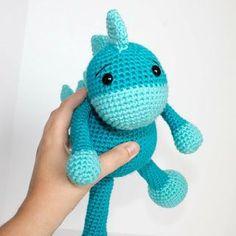 Free Crochet Dinosaur Pattern- The Friendly Dino