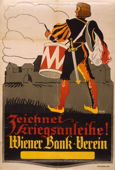 Examples of Propaganda from WW1 | Austrian WW1 Propaganda Posters Page 3