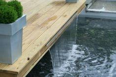 Bespoke water feature. RHS Tatton Park Flower Show Designer - Jamie Dunstan