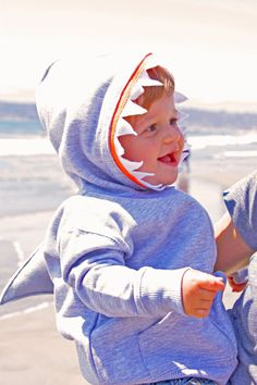 Shark Toddler Hoodie by busybellehandmade on Etsy