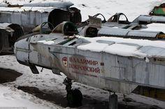 MiG-31 Boneyard - English Russia
