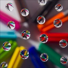 Mike Docherty - Refracted colours in water