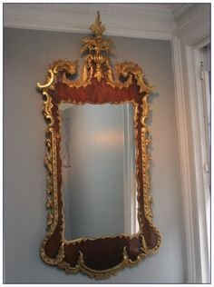 2d0436a278 Cool info on George II Antique Parcel Gilt Mirror