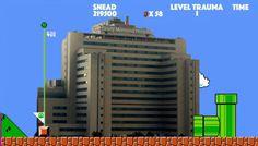 Patient Survives & Beats Level I Trauma Center, Moves On to Level II - https://gomerblog.com/2017/11/trauma-center-level-ii/?utm_source=PN&utm_campaign=DIRECT - #Femur, #Ortho, #Super_Mario, #Trauma, #Video_Games