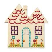 Handmade Charlotte™ Stitchable House Craft Kit (makes 12)