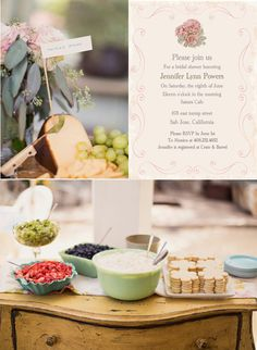 How to plan a Rustic Vintage Bridal Shower