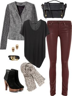"""Fall Look"" by hii-live on Polyvore"
