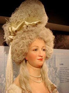 Marie Antoinette At Madame Tussaud's in London.