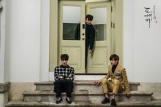 Gong Yoo, Lee Dong Wook, and Sungjae show off great chemistry in 'Goblin' still cuts Gong Yoo, Lee Dong Wook, Yook Sungjae, Btob, Goblin The Lonely And Great God, K Drama, Drama Fever, Goblin Korean Drama, Goblin Kdrama