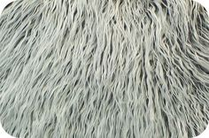 Grey Frost Mongolian Faux Fur Photo Prop Newborn Nest 18 x 20 Inches Photography