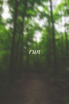 RUN! Get more running motivation on Favorite Run Facebook page - https://www.facebook.com/myfavoriterun