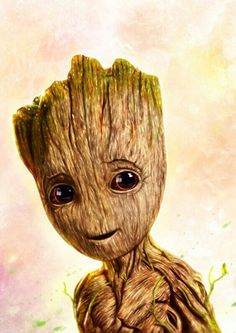 THE GUARDIANS OF THE GALAXY 'BABY GROOT'.
