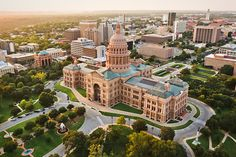 Texas State Capitol Building: Austin - The capitol building in downtown Austin is a great attraction to see while you are in the city. There are tours available which are very beneficial with learning some of the history of Texas. There are exhibits to see, and a Visitor's Center where vacationers can learn even more. (https://www.facebook.com/TravelingWarrior) #Austin #attractions #travel