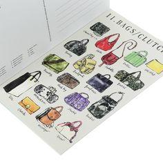 tipos de faldas - Fashionary X Vita Yang Postcard Book | Fashionary