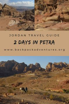 Petra itinerary: 2 days in Petra Jordan - Backpack Adventures Eastern Travel, Asia Travel, Travel Ideas, Travel Inspiration, Travel Tips, Middle East Destinations, Travel Destinations, Jordan Travel, Best Travel Guides