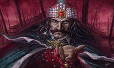 Vlad Dracul, the historical figure Vlad Tepes, who intermittently ruled an area of the Balkans called Wallachia in the mid century. He was also called by the names Vlad III, Vlad Dracula and Vlad the Impaler. The word Tepes stands for Vlad Der Pfähler, Vlad El Empalador, Bram Stoker's Dracula, Count Dracula, Famous Vampires, Del Conte, Werewolf Hunter, Photographie Portrait Inspiration, Vlad The Impaler