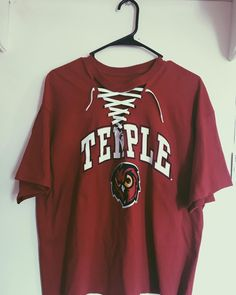 Temple University lace-up Tailgate Outfit, University Outfit, Back Tattoo Women, College Campus, College Outfits, Temple, Lace Up, Philadelphia, Dorm