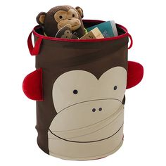 Buy Skip Hop Pop Up Hamper, Monkey | John Lewis