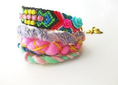 #friendship  #bracelets   Escape to Maldives   Friendship Rhinestone Bracelet by Savi, $37.00