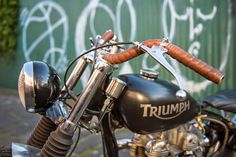 Under the influence pre-unit Triumph Tiger ~ Return of the Cafe Racers