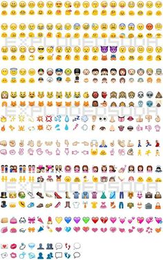 iPhone to Android emojis... So relevant
