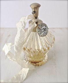 Vintage French Perfume Bottle