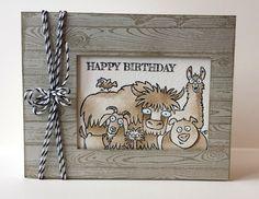 Stamp: From the Herd, Hardwood C/S: Watercolor, Baked Brown Sugar Ink: Sarah Sand, Baked Brown Sugar