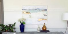 Abstract paintings are a beautiful addition to any room, any decorating style. Save money and create the perfect custom abstract piece at home!