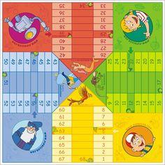 PARCHÍS Y OCA / LUDO & GOOSE on Behance Board Games, Art Drawings, Behance, Kit, To Tell, Free Stencils, Math Games, Learning, Board