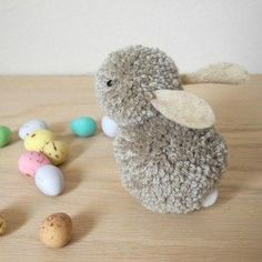 Shop LoveCrafts for an amazing choice of craft supplies, patterns and templates. Find inspiration for your next craft project. Kids Crafts, Diy Craft Projects, Easter Crafts, Diy And Crafts, Yarn Animals, Pom Pom Animals, Pom Pom Crafts, Yarn Crafts, Diy Pompon