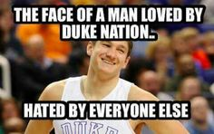 And he still fights through it. Through the chants and the signs and the Boo's he fights through. Thats why i love him. So tough and actually a really good person. Everyone wants to define him based on what he does on the court but there is more to an athlete than what they do in the game #IStillLoveGraysonAllen