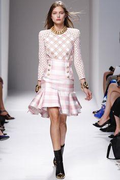 Square Dance - Plaid, Gingham, Check Fashion Trend Spring/Summer 2014 (Vogue.com UK)