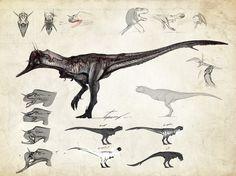 Neurotenic Carnotaurus by Tapwing