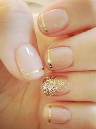 Love the gold tips! So pretty!