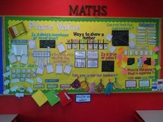 Question titles and resources for a working maths wall aimed at - focus Reasoning. Also, includes Place Value resources linked to expectations. PLEASE NOTE: The resources come in the format of an Activeinspire Promethean Flipchart and a non-edita. Maths Display Ks2, Primary Classroom Displays, Year 4 Classroom, Classroom Display Boards, Ks1 Classroom, Teaching Displays, Class Displays, Bulletin Boards, Year 3 Maths