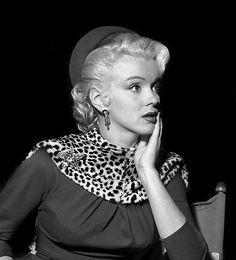 Marilyn Monroe in Leopard Print