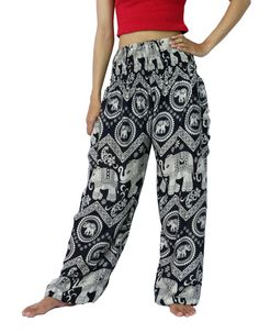 Unisex Trouser Pants Elephant Pants Yoga Pants Aladdin by NaLuck