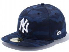 Navy Tiger Camo New York Yankees 59Fifty Fitted Cap by NEW ERA x MLB
