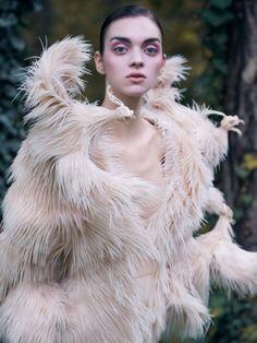 Magda Laguinge photographed by Jumbo Tsui for Harper's Bazaar China December 2013