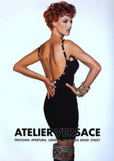 Linda Evangelista for Atelier Versace Haute Couture Atelier Fall 1991 Atelier Versace, Gianni Versace, Versace Versace, Linda Evangelista, Rosie Huntington Whiteley, Top Models, Alexa Chung, Pacsun, Kendall Jenner