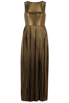 #refinery29 | Dorothy Perkins Gold Shimmer Maxi Dress, $79, available at Dorothy Perkins. | Just in case you have a gala to go to.